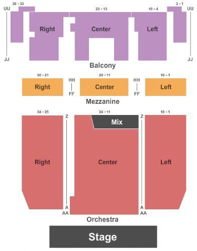Danforth Music Hall Seating Chart