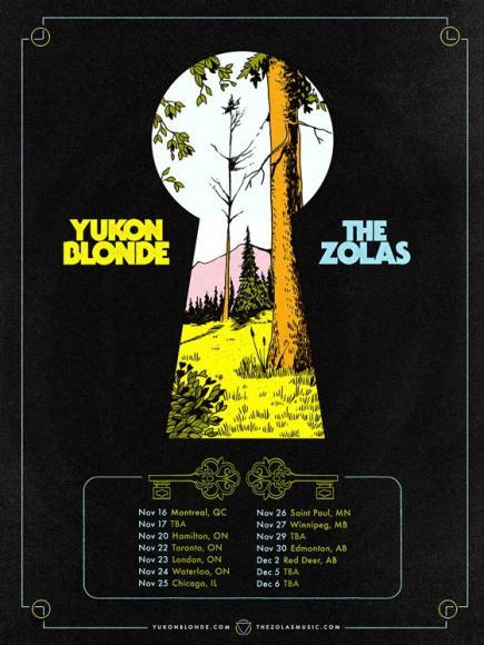Yukon Blonde & The Zolas at Danforth Music Hall