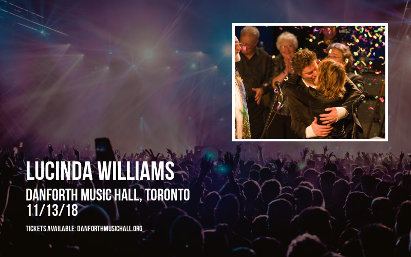 Lucinda Williams at Danforth Music Hall