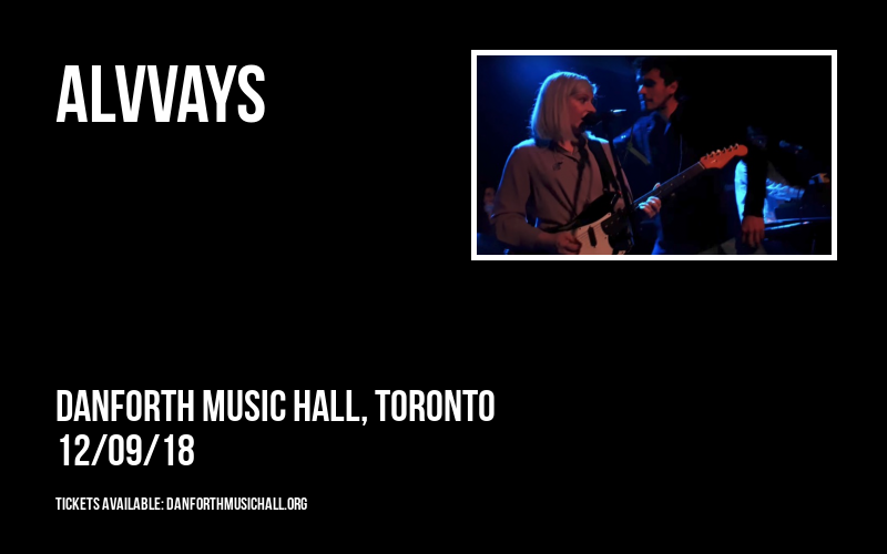Alvvays at Danforth Music Hall