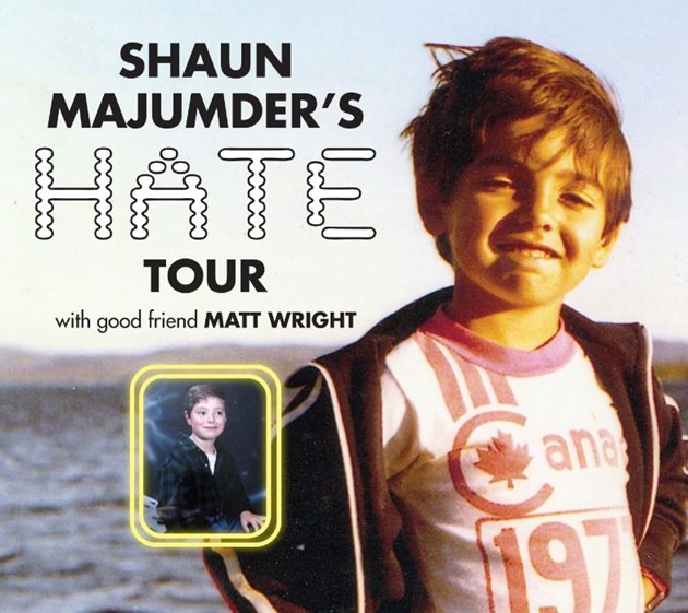 Shaun Majumder at Danforth Music Hall