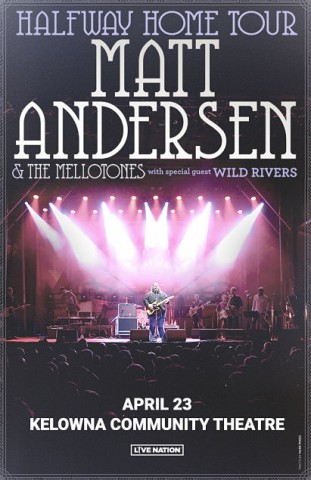 Matt Andersen & The Mellotones at Danforth Music Hall