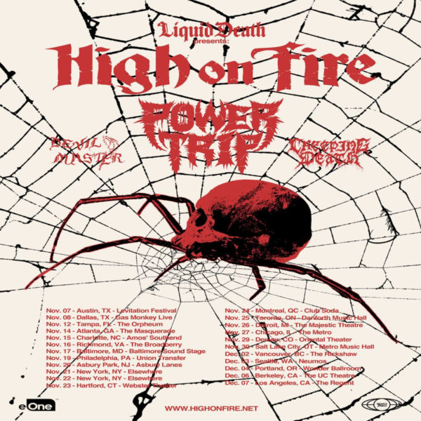 High On Fire & Power Trip at Danforth Music Hall