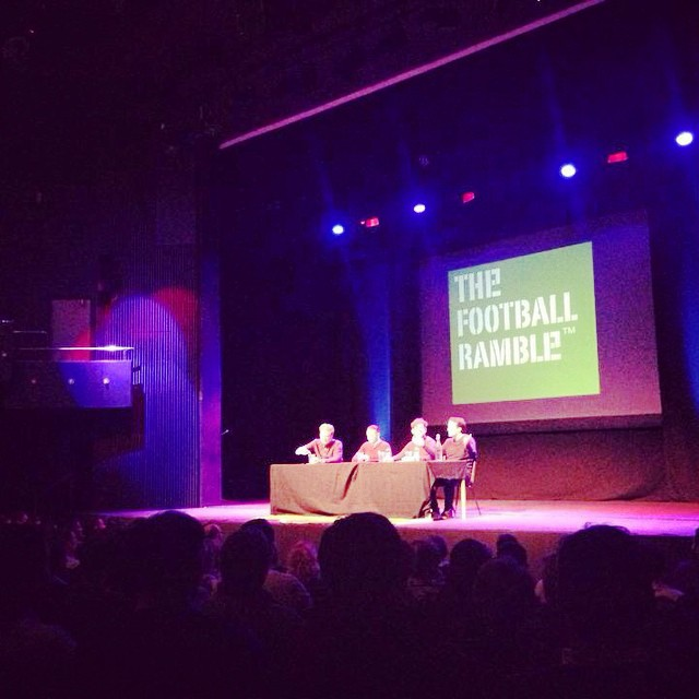 The Football Ramble Live at Danforth Music Hall