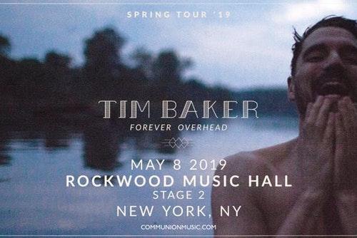Tim Baker at Danforth Music Hall