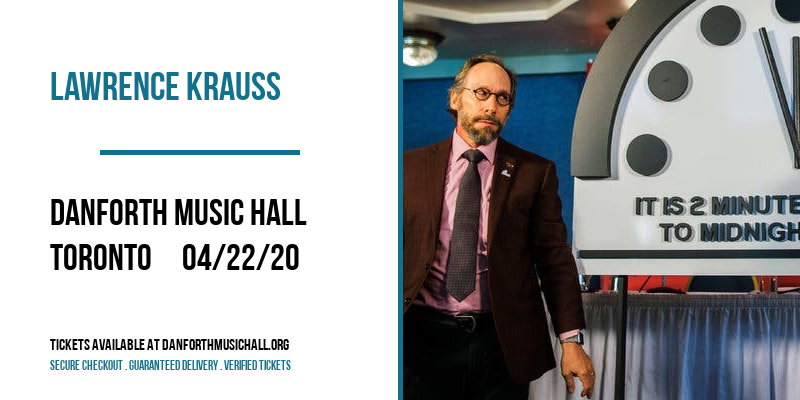 Lawrence Krauss at Danforth Music Hall