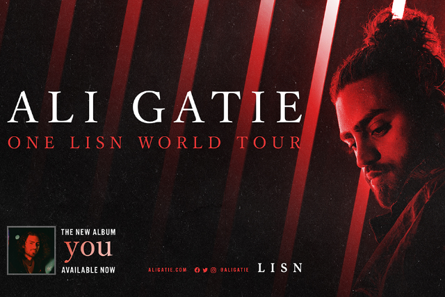 Ali Gatie at Danforth Music Hall