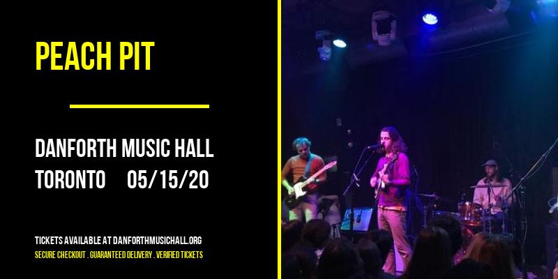 Peach Pit at Danforth Music Hall