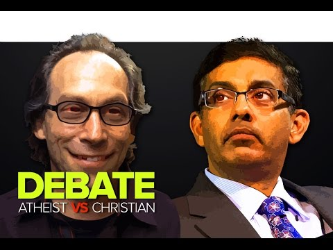 Lawrence Krauss vs. Dinesh D'Souza at Danforth Music Hall