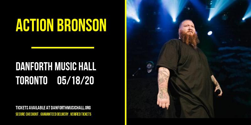 Action Bronson [POSTPONED] at Danforth Music Hall