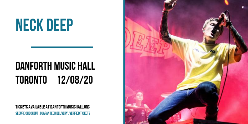 Neck Deep at Danforth Music Hall