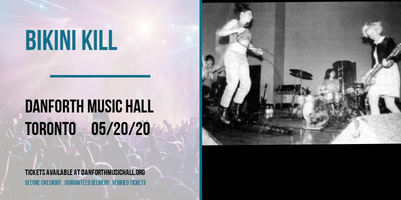 Bikini Kill at Danforth Music Hall