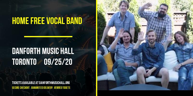 Home Free Vocal Band [POSTPONED] at Danforth Music Hall