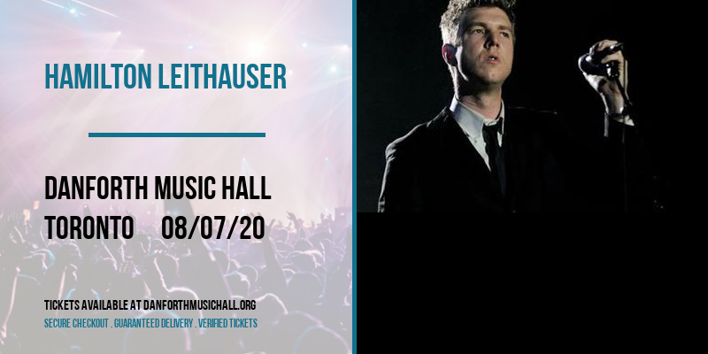 Hamilton Leithauser [CANCELLED] at Danforth Music Hall