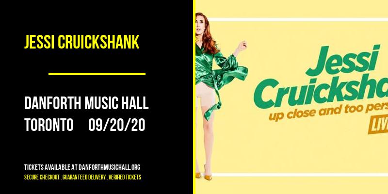 Jessi Cruickshank at Danforth Music Hall