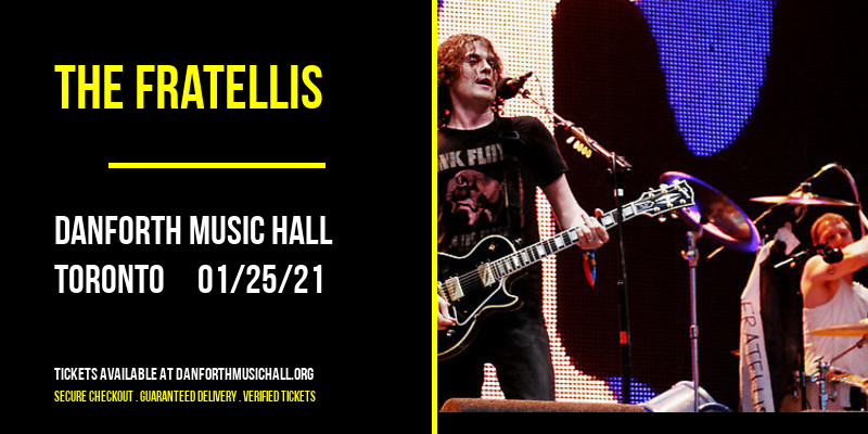 The Fratellis at Danforth Music Hall