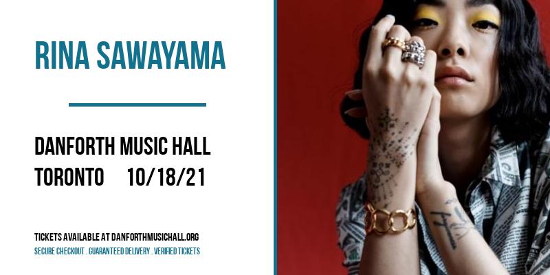 Rina Sawayama at Danforth Music Hall