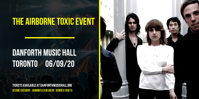 The Airborne Toxic Event at Danforth Music Hall