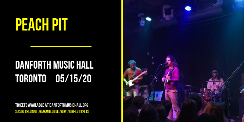 Peach Pit [CANCELLED] at Danforth Music Hall