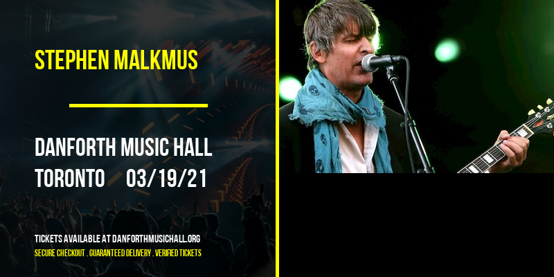 Stephen Malkmus [CANCELLED] at Danforth Music Hall
