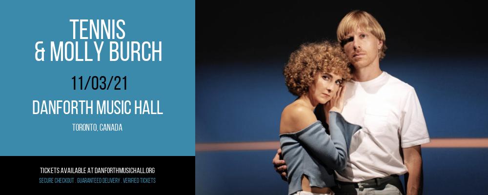 Tennis & Molly Burch at Danforth Music Hall
