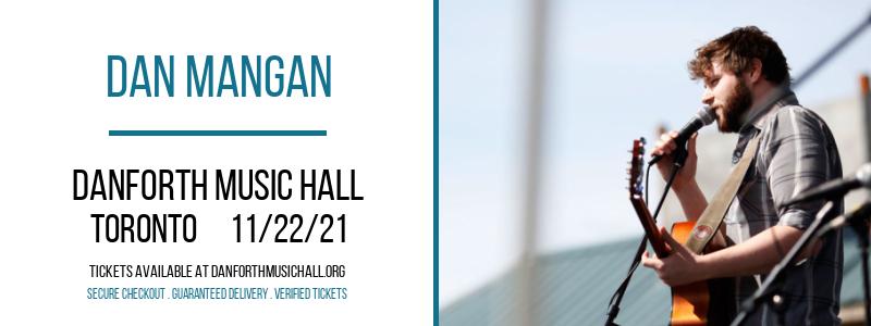 Dan Mangan at Danforth Music Hall