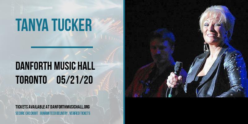 Tanya Tucker [CANCELLED] at Danforth Music Hall