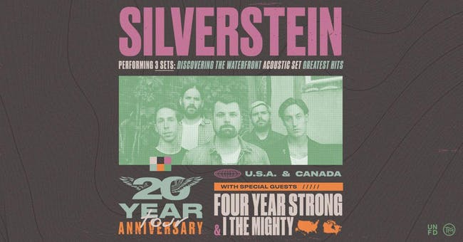 Silverstein, Four Year Strong & I The Mighty [CANCELLED] at Danforth Music Hall