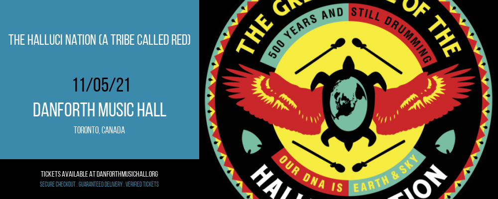 The Halluci Nation (A Tribe Called Red) at Danforth Music Hall