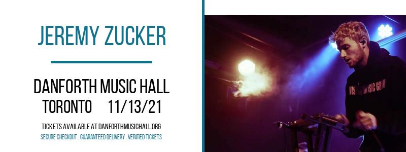 Jeremy Zucker at Danforth Music Hall