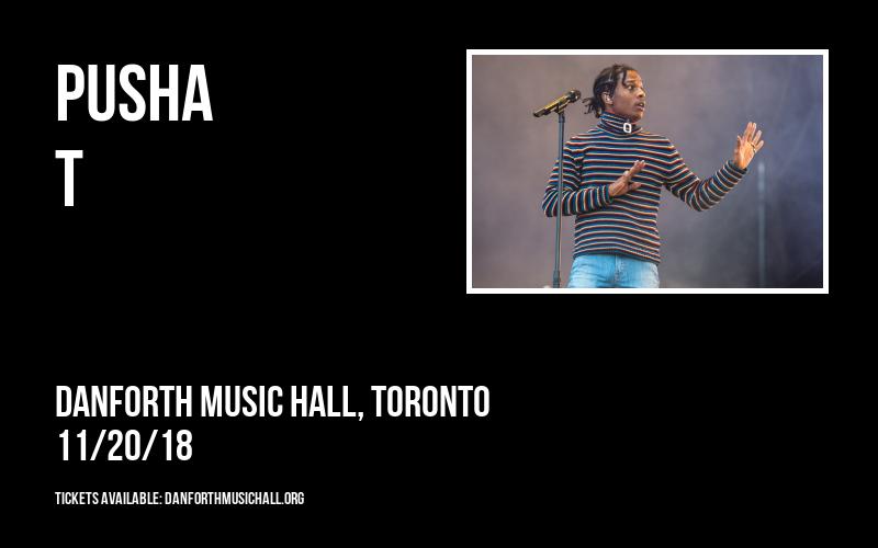 Pusha T at Danforth Music Hall