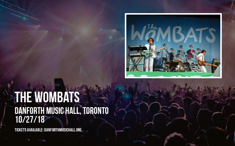 The Wombats at Danforth Music Hall