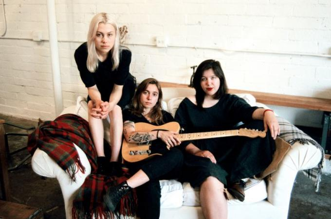 Julien Baker, Phoebe Bridgers & Lucy Dacus at Danforth Music Hall
