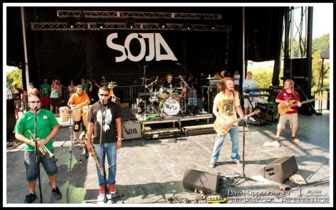 Soja at Danforth Music Hall