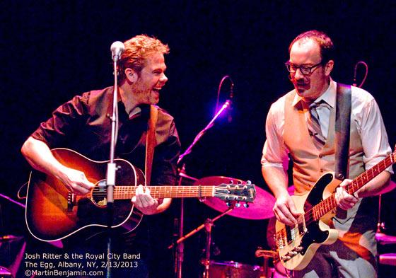 Josh Ritter & The Royal City Band at Danforth Music Hall