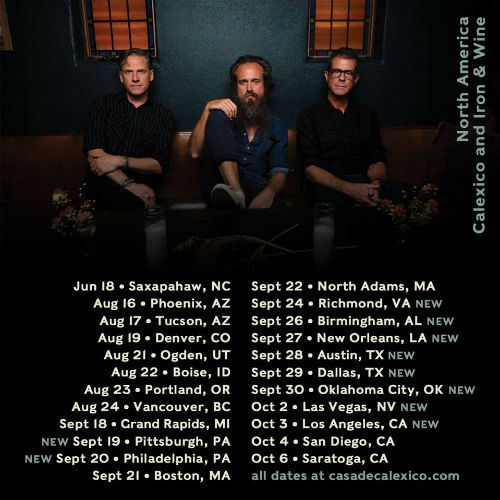 Calexico & Iron and Wine at Danforth Music Hall