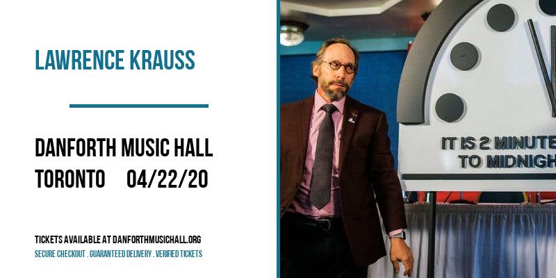 Lawrence Krauss at Danforth Music Hall