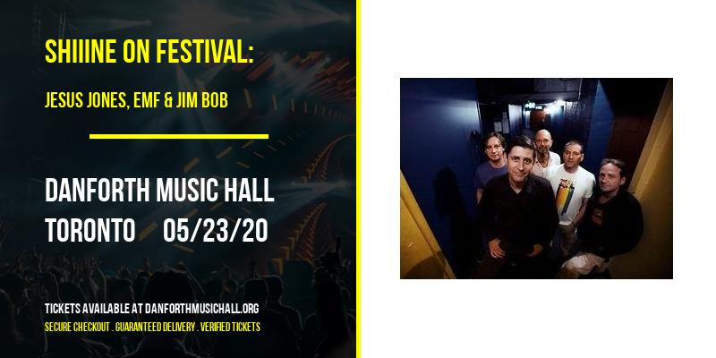 Shiiine On Festival: Jesus Jones, EMF & Jim Bob at Danforth Music Hall