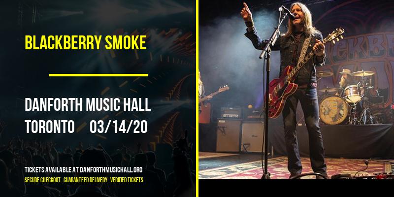 Blackberry Smoke at Danforth Music Hall