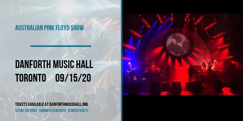 Australian Pink Floyd Show at Danforth Music Hall