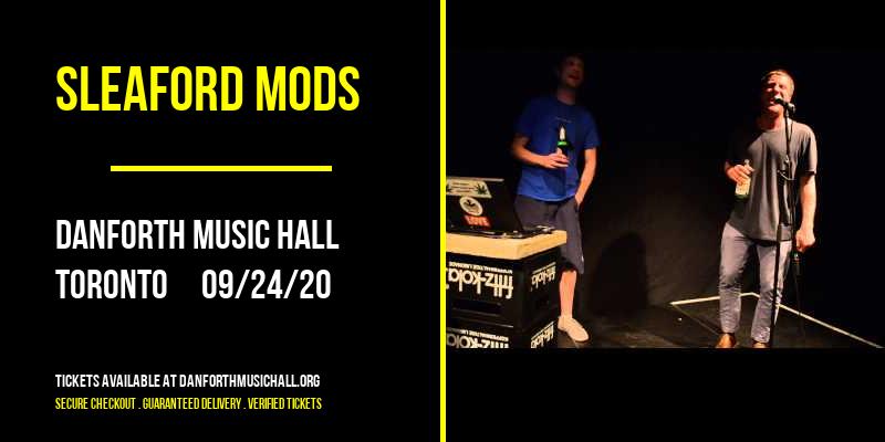 Sleaford Mods at Danforth Music Hall