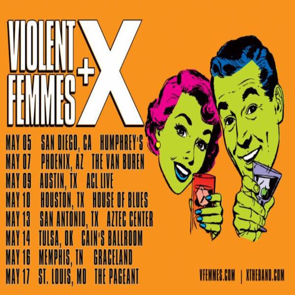 Violent Femmes & X [POSTPONED] at Danforth Music Hall
