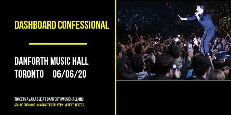 Dashboard Confessional [CANCELLED] at Danforth Music Hall