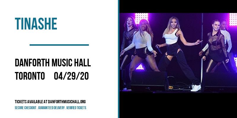 Tinashe [CANCELLED] at Danforth Music Hall