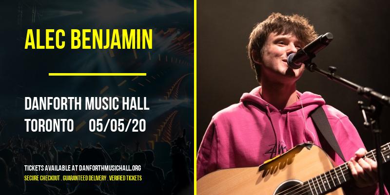 Alec Benjamin at Danforth Music Hall