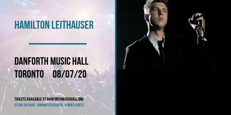 Hamilton Leithauser [CANCELLED] at Danforth Music Hall
