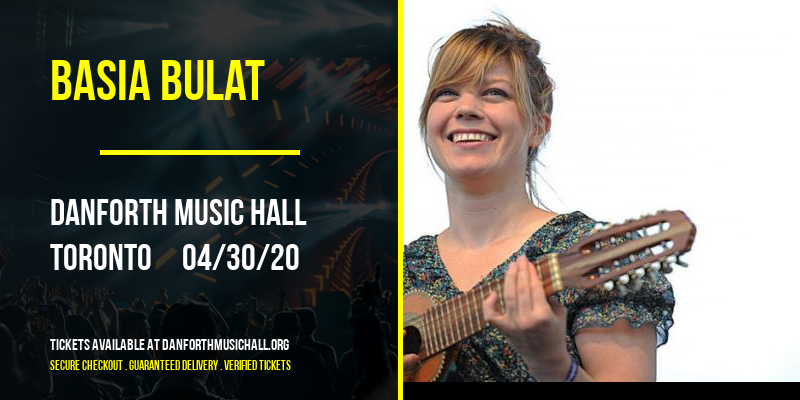 Basia Bulat [CANCELLED] at Danforth Music Hall