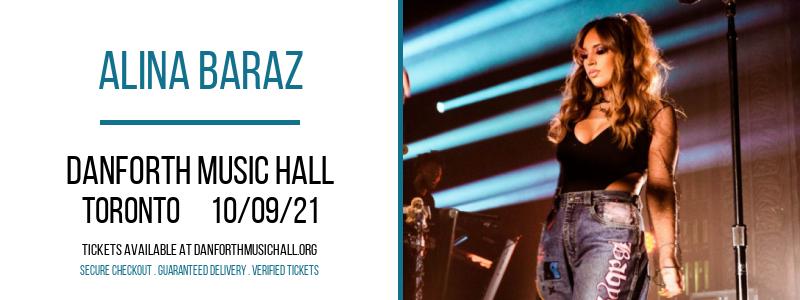 Alina Baraz [CANCELLED] at Danforth Music Hall